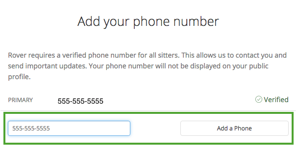 How do i update my phone number help center enter your number and select add a phone ccuart Images